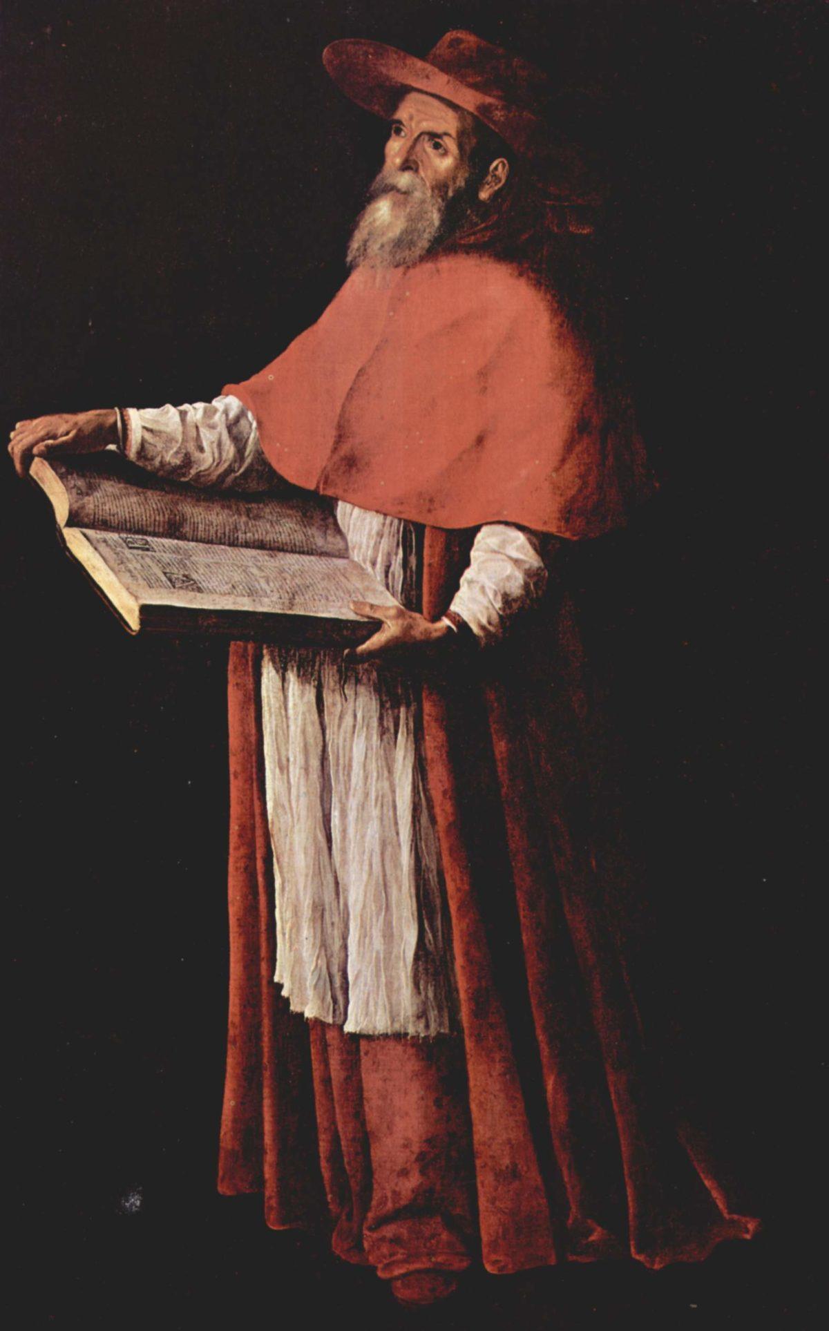 Francisco de Zurbarán, San Girolamo, 1626, Museo de Bellas Artes a Siviglia
