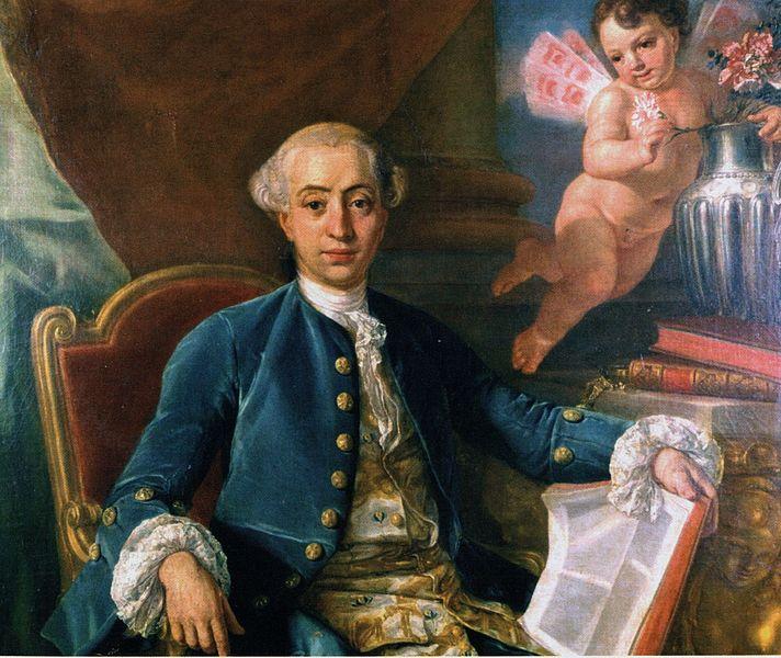 Quadro di Raffaello Mengs raffigurante Casanova, ma si tratta con tutta probabilità di un falso